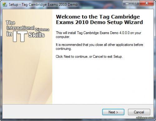Cambridge Exams 2010 Demo V4.0