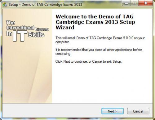 برنامج اختبار كامبردج التجريبية 2013
