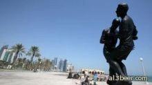 نطحة زيدان في متحف قطر
